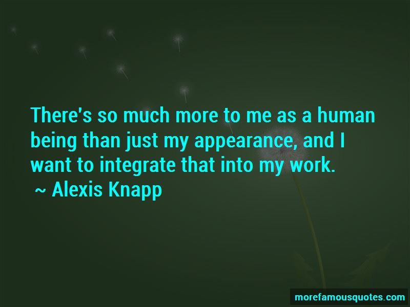 Alexis Knapp Quotes Pictures 2