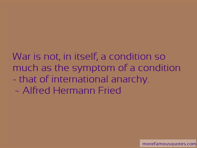 Alfred Hermann Fried Quotes