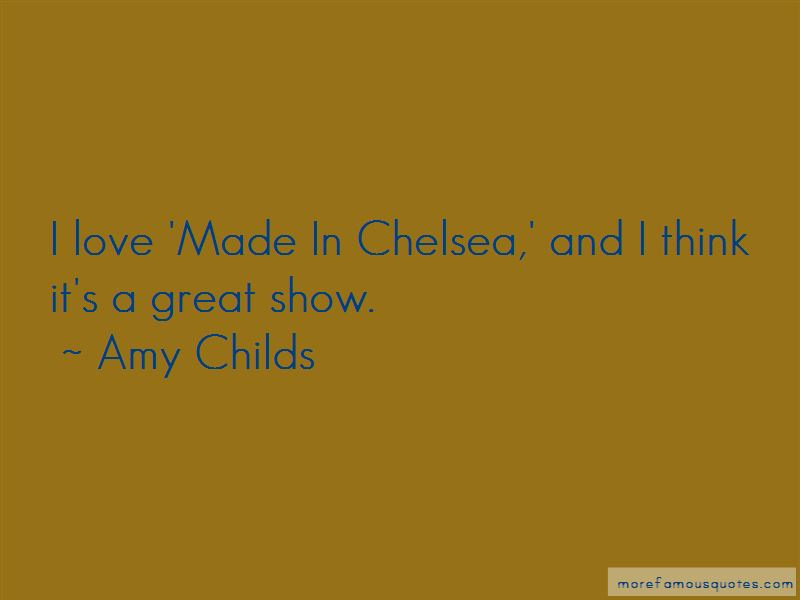 Amy Childs Quotes