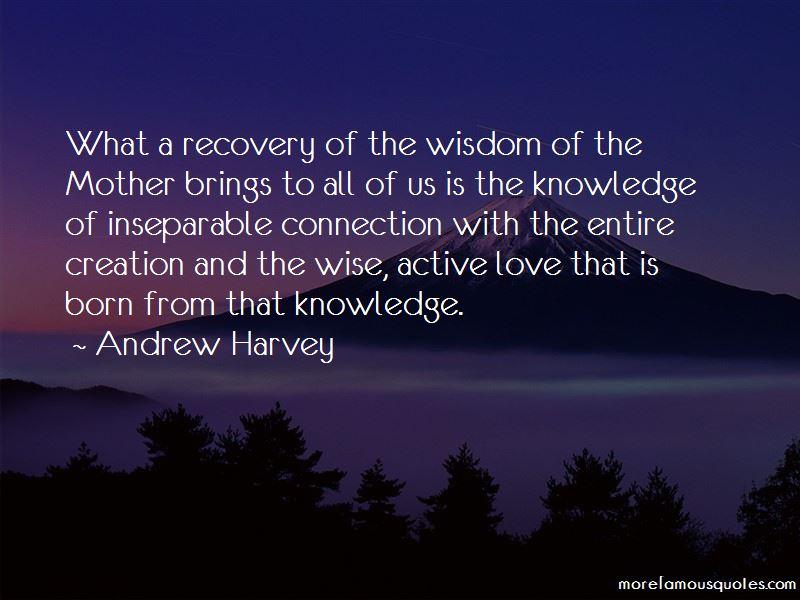 Andrew Harvey Quotes