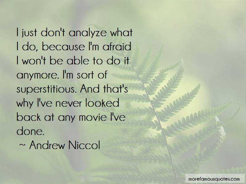 Andrew Niccol Quotes