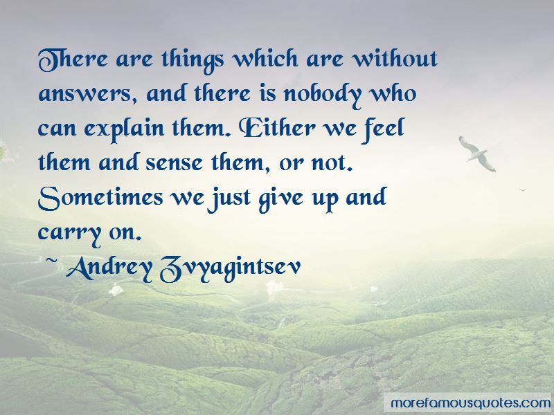 Andrey Zvyagintsev Quotes