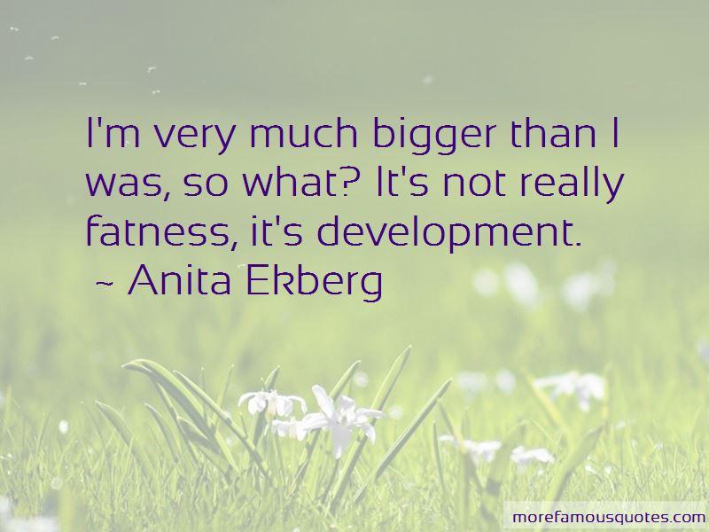 Anita Ekberg Quotes Pictures 2