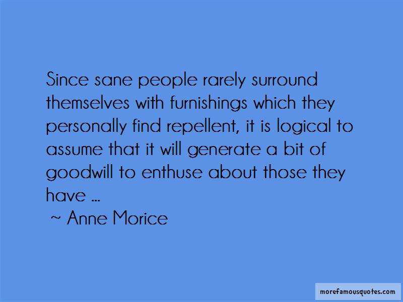 Anne Morice Quotes