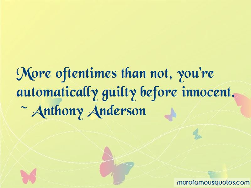 Anthony Anderson Quotes Pictures 2