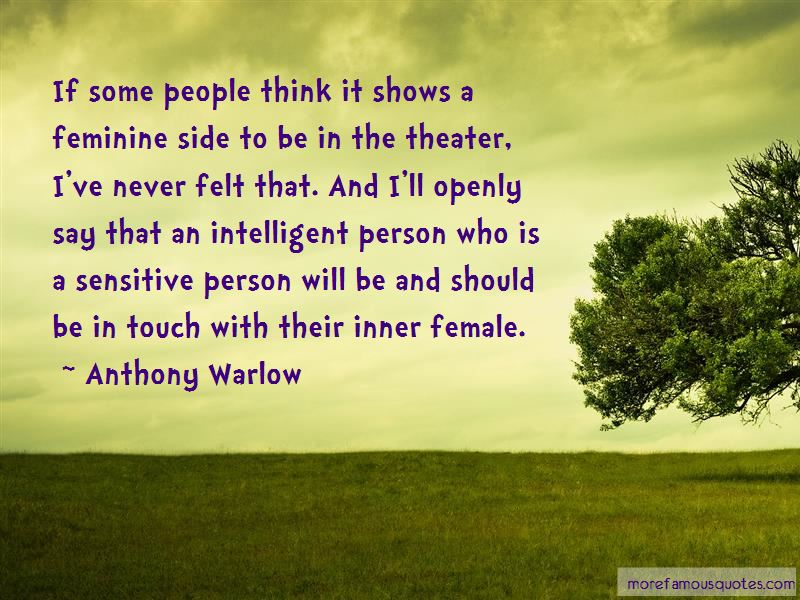 Anthony Warlow Quotes Pictures 4