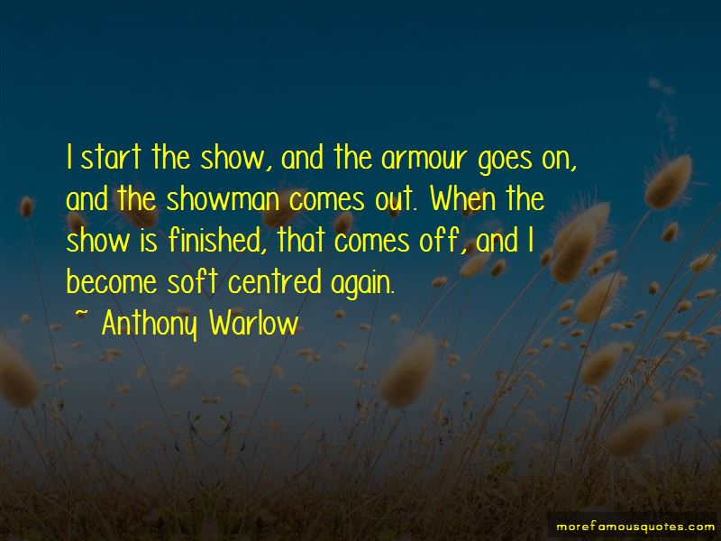 Anthony Warlow Quotes