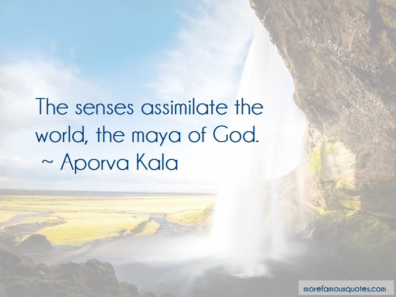Aporva Kala Quotes