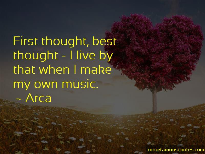 Arca Quotes