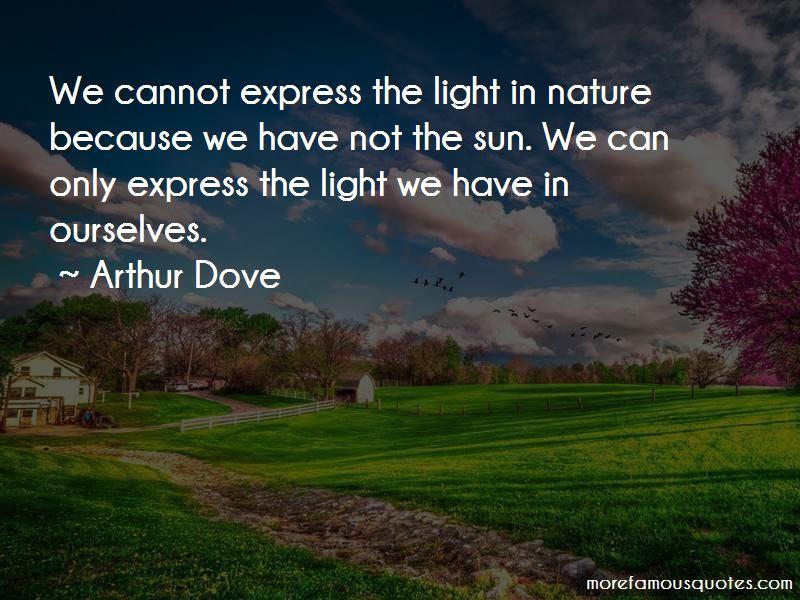 Arthur Dove Quotes Pictures 3