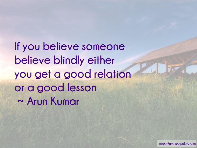 Arun Kumar Quotes
