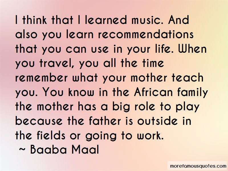 Baaba Maal Quotes Pictures 4