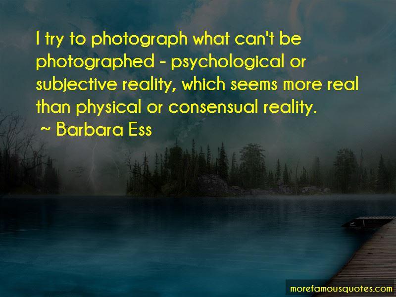 Barbara Ess Quotes