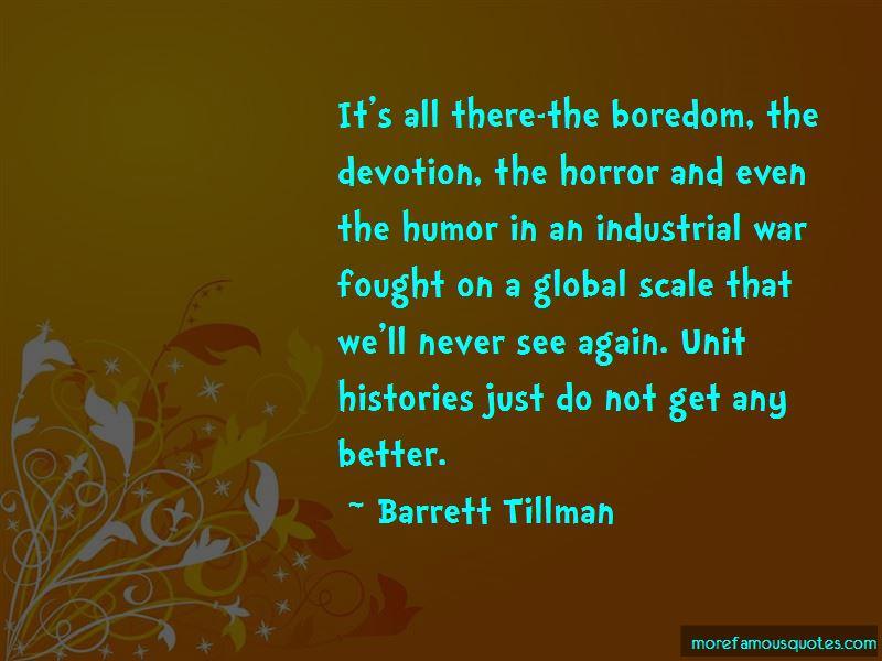 Barrett Tillman Quotes