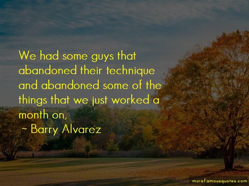 Barry Alvarez Quotes Pictures 3