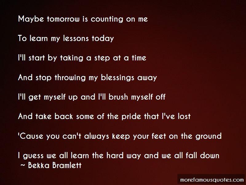 Bekka Bramlett Quotes