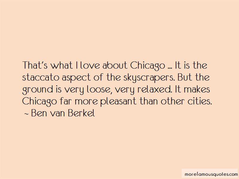 Ben Van Berkel Quotes Pictures 2