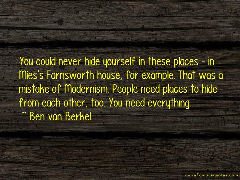 Ben Van Berkel Quotes