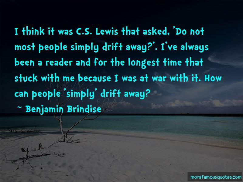 Benjamin Brindise Quotes Pictures 4