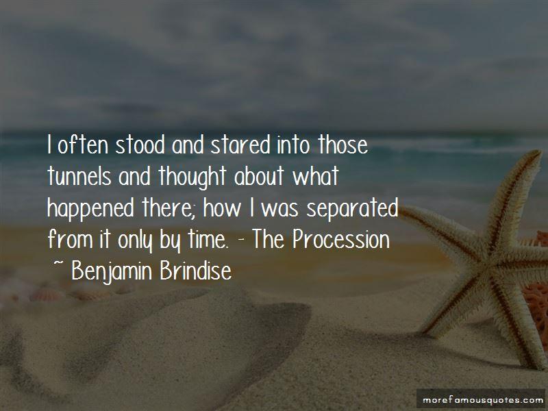 Benjamin Brindise Quotes