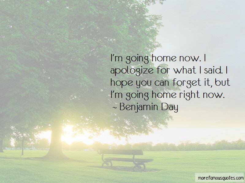 Benjamin Day Quotes Pictures 2