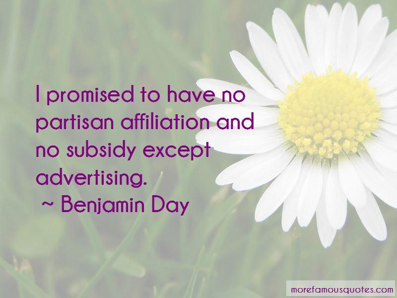 Benjamin Day Quotes