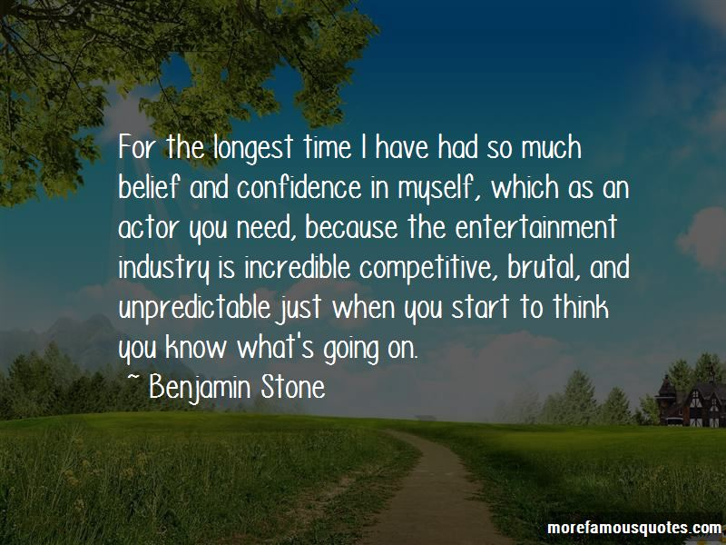 Benjamin Stone Quotes Pictures 3