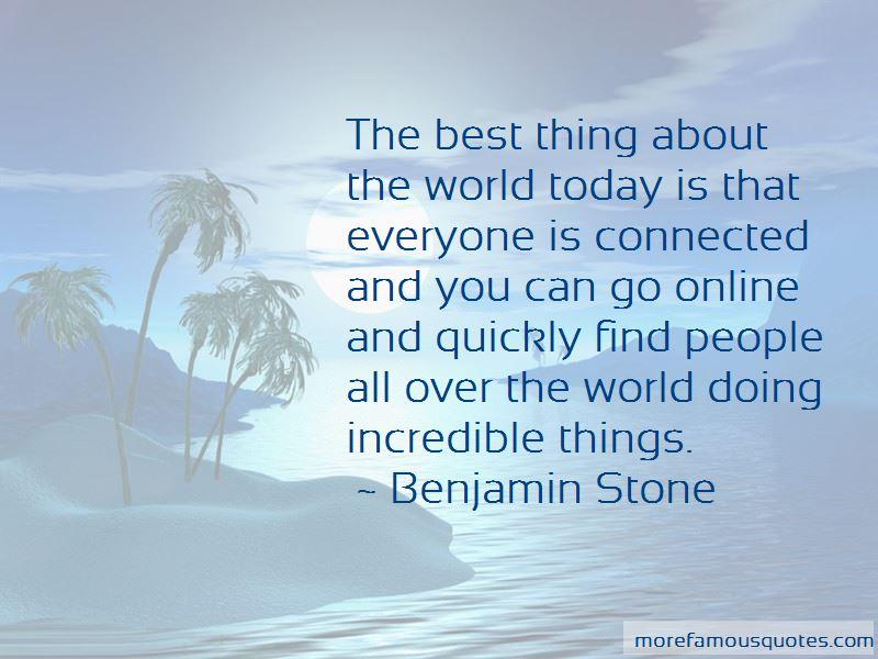 Benjamin Stone Quotes Pictures 4