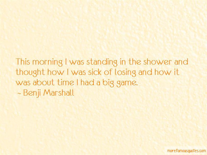Benji Marshall Quotes