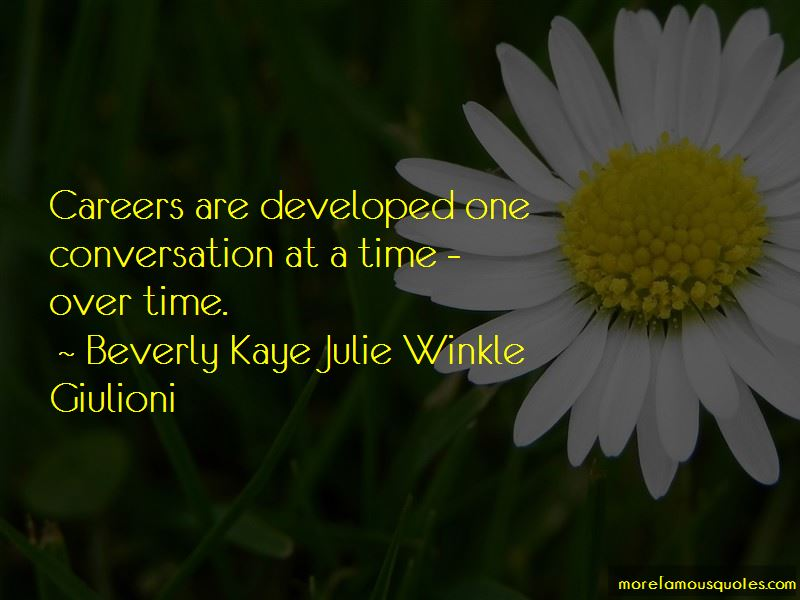 Beverly Kaye Julie Winkle Giulioni Quotes