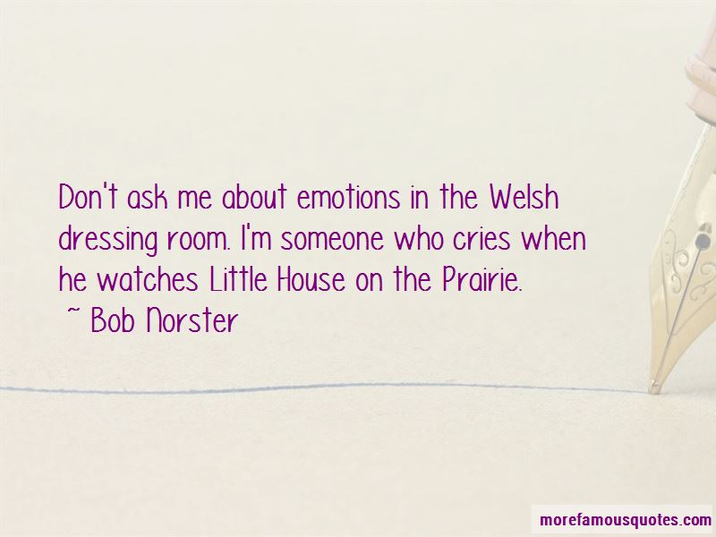 Bob Norster Quotes