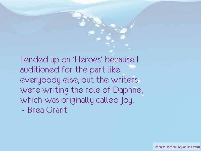 Brea Grant Quotes Pictures 3