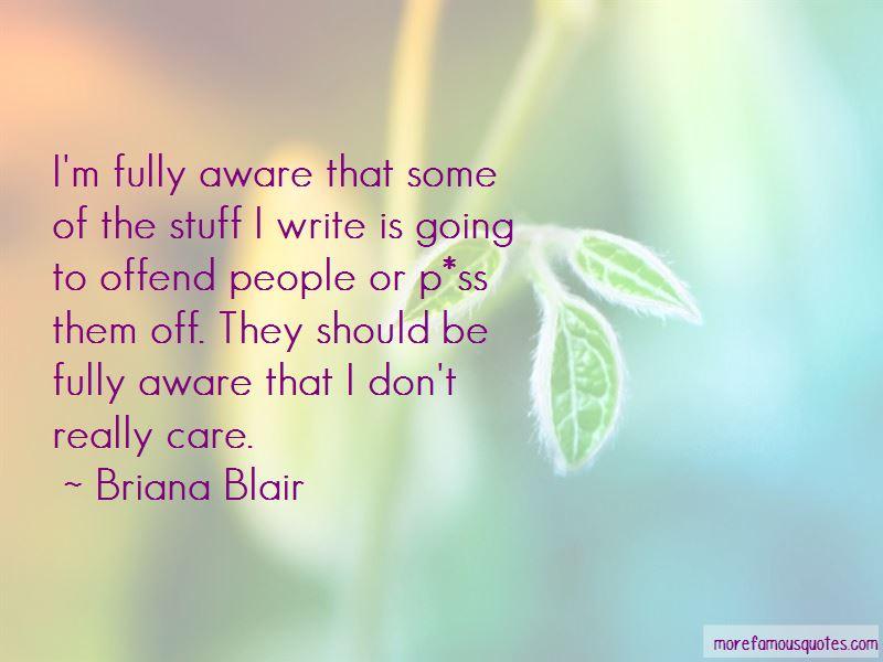Briana Blair Quotes