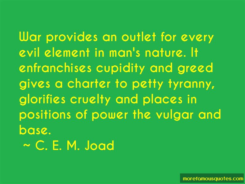 C. E. M. Joad Quotes Pictures 2