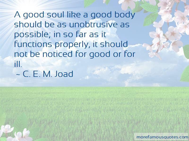 C. E. M. Joad Quotes
