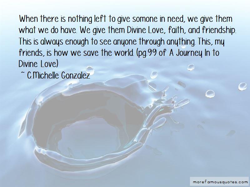 C.Michelle Gonzalez Quotes
