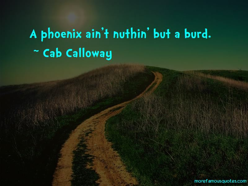 Cab Calloway Quotes Pictures 2