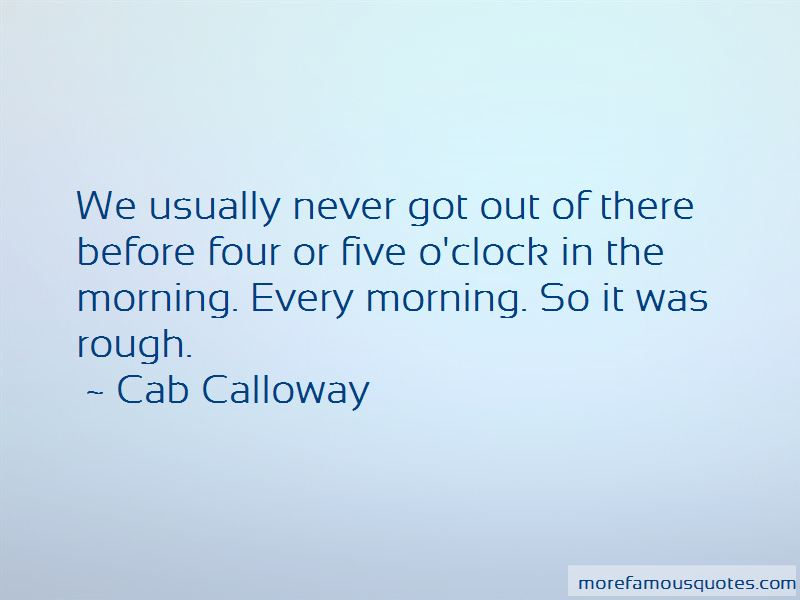 Cab Calloway Quotes Pictures 4