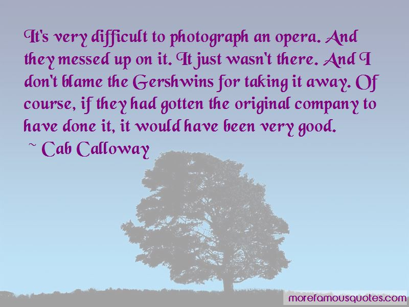 Cab Calloway Quotes