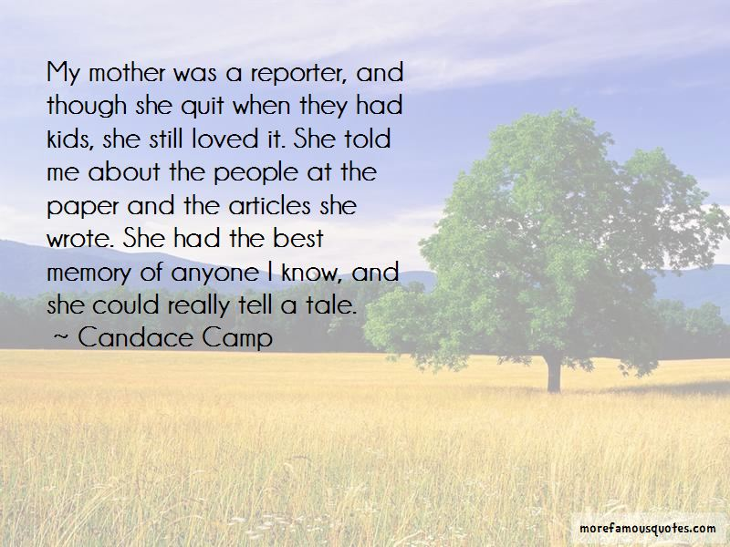 Candace Camp Quotes