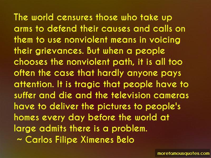 Carlos Filipe Ximenes Belo Quotes Pictures 4