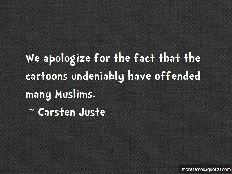 Carsten Juste Quotes