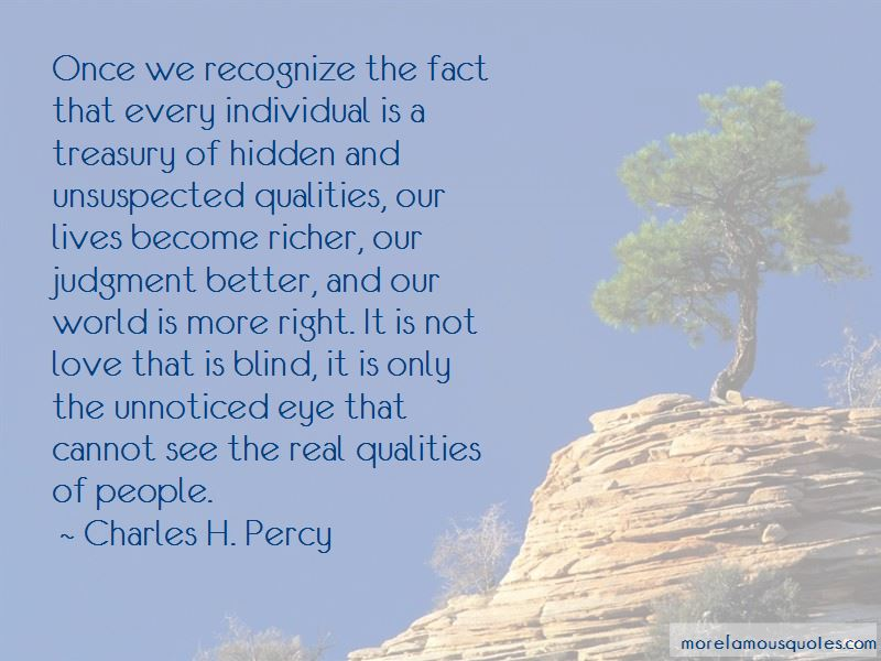 Charles H. Percy Quotes Pictures 3