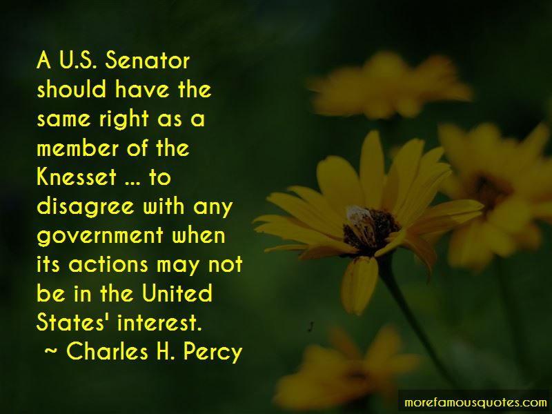 Charles H. Percy Quotes