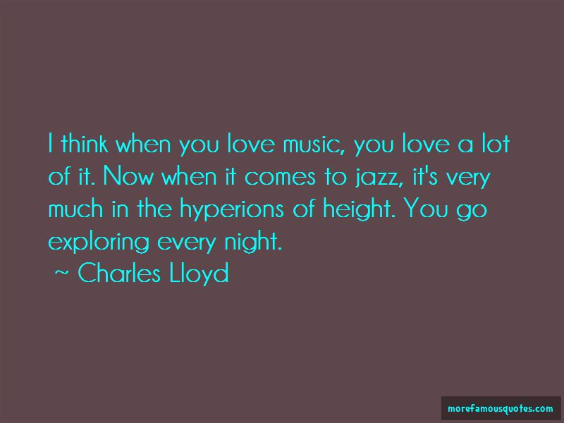 Charles Lloyd Quotes Pictures 4