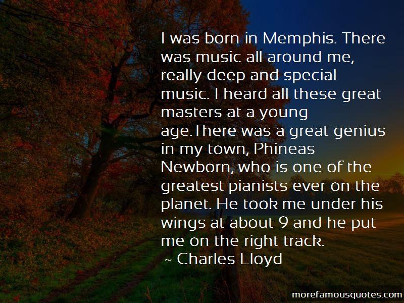 Charles Lloyd Quotes