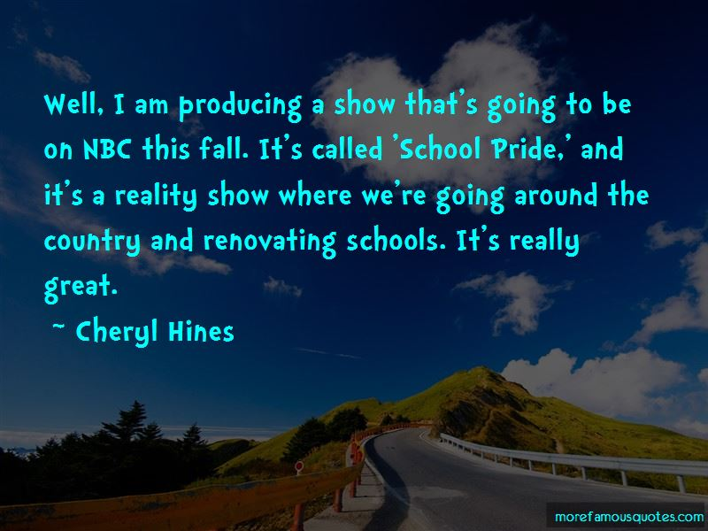 Cheryl Hines Quotes Pictures 2
