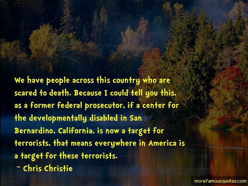Chris Christie Quotes