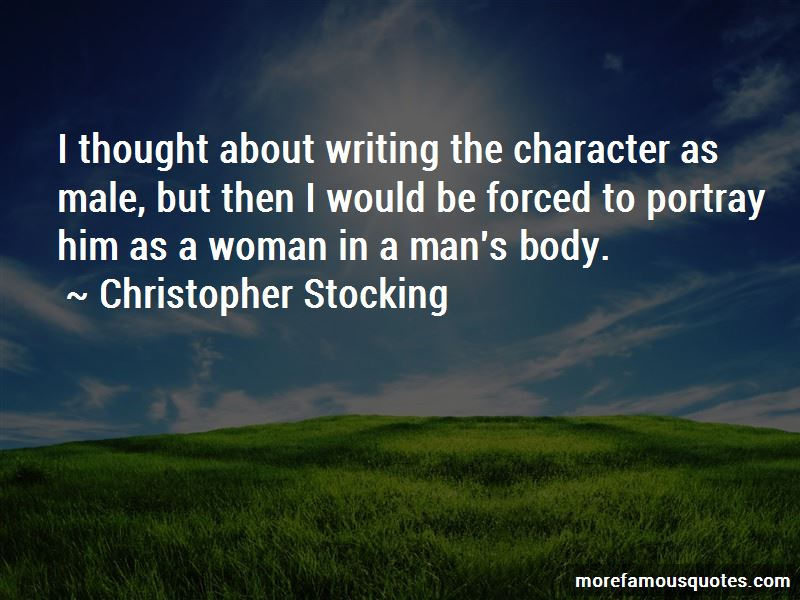 Christopher Stocking Quotes Pictures 4