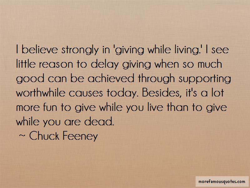 Chuck Feeney Quotes